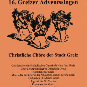 16. Greizer Adventssingen