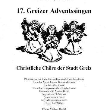 Greizer Adventssingen